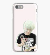 BTS Yoongi Pastel Pink iPhone Case/Skin