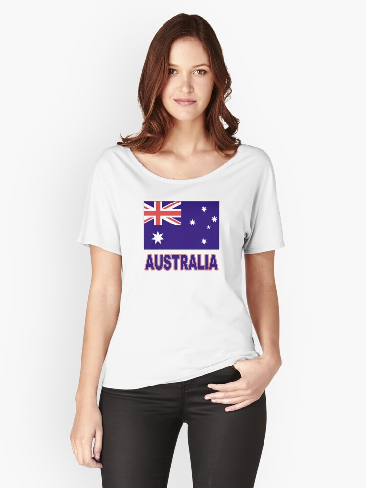 The Pride of Australia Women's Relaxed Fit T-Shirt Front