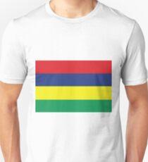 Mauritius Flag Unisex T-Shirt