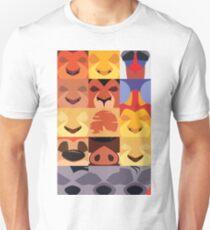 Minimalist Lion King Icons T-Shirt