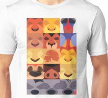 Minimalist Lion King Icons Unisex T-Shirt