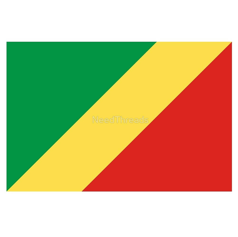 Republic Of The Congo Flag by NeedThreads