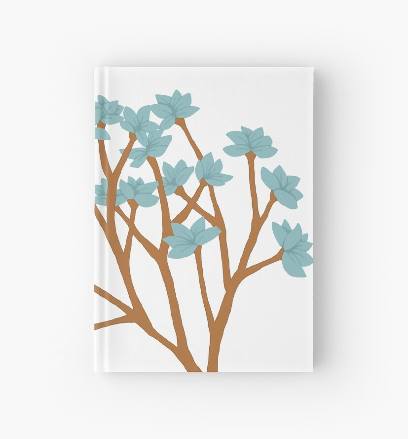 Blue Floral by mytentacle