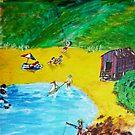 The Seaside by David Fraser
