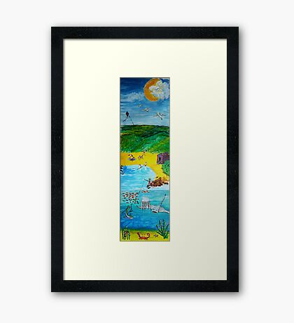 The Seaside Framed Print