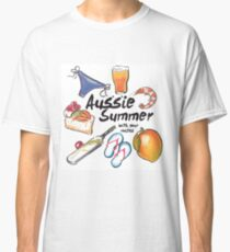 Aussie Summer with your mates Classic T-Shirt