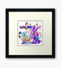 Don'tWorryBeHappy Framed Print