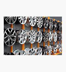 car aluminum wheel rim Photographic Print