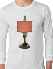 Reindeer or Caribou Leg Lamp Long Sleeve T-Shirt