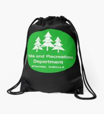 Parks and Rec Drawstring Bag
