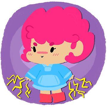 Tiny Kumatora by 8bitmonkey