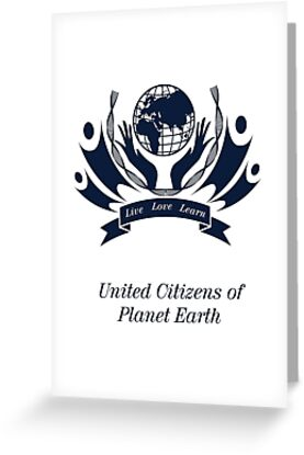 United Citizens of Planet Earth by HereticWear