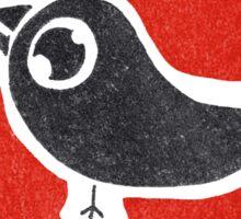 bird print Sticker