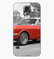 Red Mustang Case/Skin for Samsung Galaxy