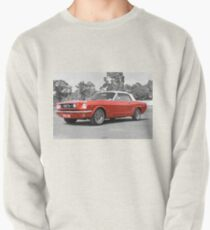 Red Mustang Pullover