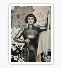 Revolutionary Joan of Arc Sticker