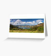 Kalamalka Provincial Park Panoramic Greeting Card