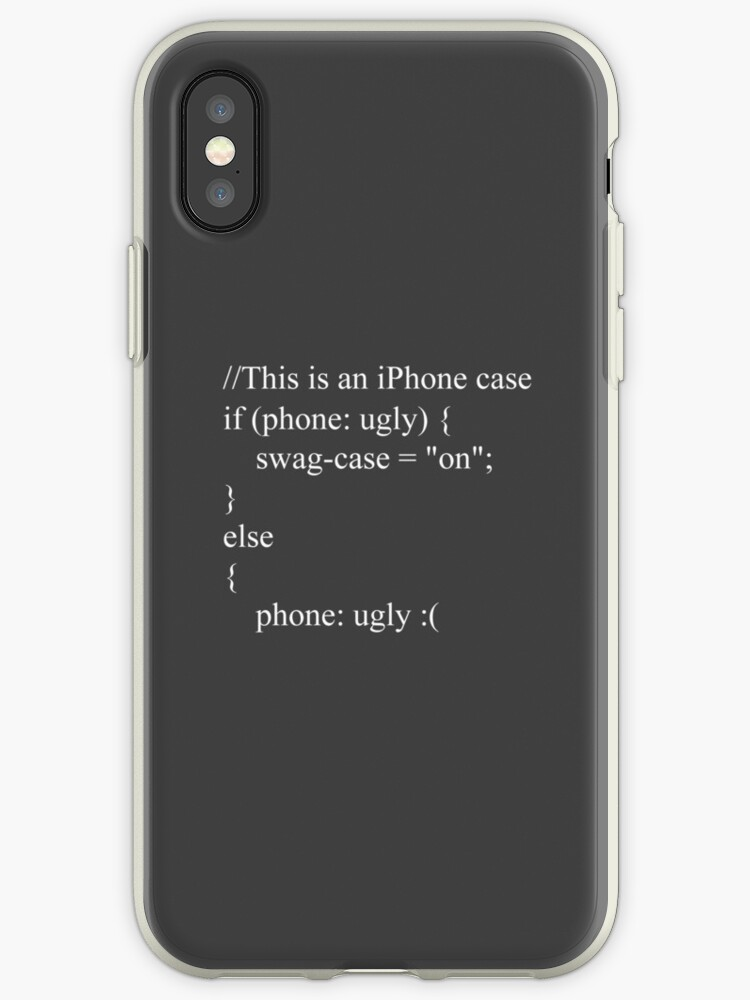 JavaScript Style iPhone case by 80freak