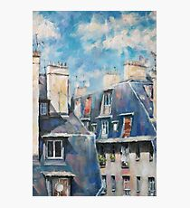 Roofs of Montmartre Photographic Print