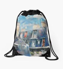 Roofs of Montmartre Drawstring Bag