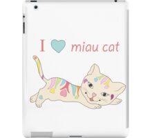 CUTE CAT iPad Case/Skin