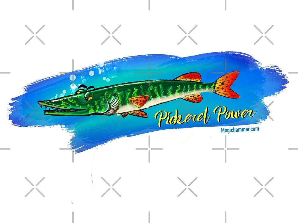 Pickerel  by Russ Fagle Magichammer.com