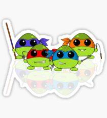 Cute Teenage Mutant Ninja Turtles Sticker