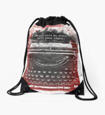 What Richard Castle Said 2.0 Drawstring Bag