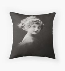 the beaty of pureness Throw Pillow