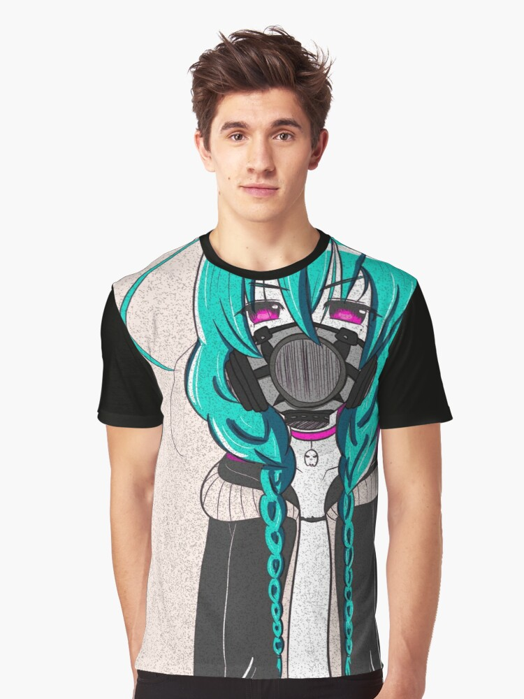 Mask Graphic T-Shirt Front