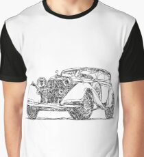 retro auto car Graphic T-Shirt