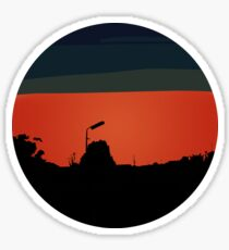 Red Sky Sticker