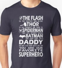 Daddy-SuperHero T-Shirt