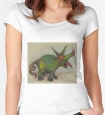 EricTHEWilson Snort Women's Fitted Scoop T-Shirt