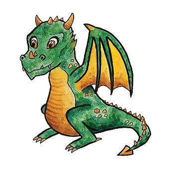 Baby Dragon! by srclark