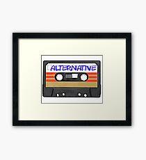 Alternative music Framed Print