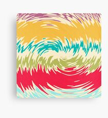 Colorful whirlpool Canvas Print