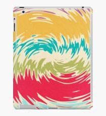 Colorful whirlpool iPad Case/Skin