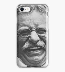 Theodore 'Teddy' Roosevelt Laughing iPhone Case/Skin