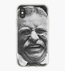 Vinilo o funda para iPhone Theodore 'Teddy' Roosevelt riendo
