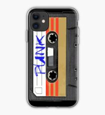 Punk Music Tape iPhone Case