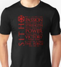 The Sith Code Slim Fit T-Shirt