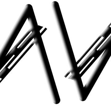 """Dave"" Ambigram (reversible image) by flatfrog00"