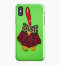 Cute owl decoration iPhone Case/Skin