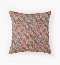 Chaos abstract design Throw Pillow