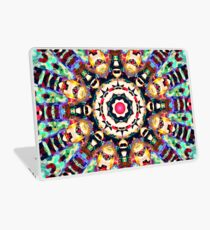 Colorful Concentric Abstract Laptop Skin