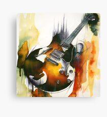 Eastman Guitar  Canvas Print