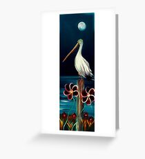 Pelican Paradise Greeting Card
