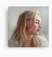 Iskra Lawrence Canvas Print