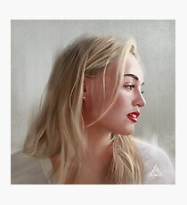Iskra Lawrence Photographic Print